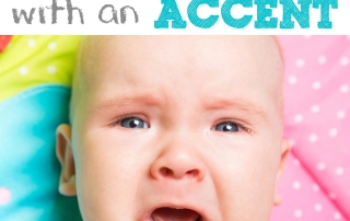 Did you know your baby cries with an accent