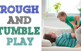 rough and tumble play blog post heading