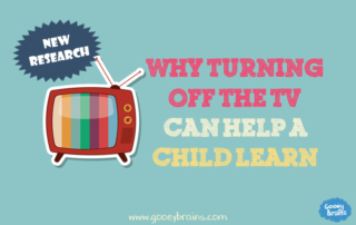Turning off the tv helps a childs attention