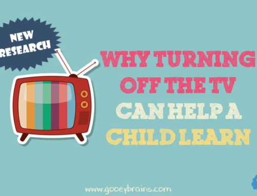 Why turning off the TV helps children learn