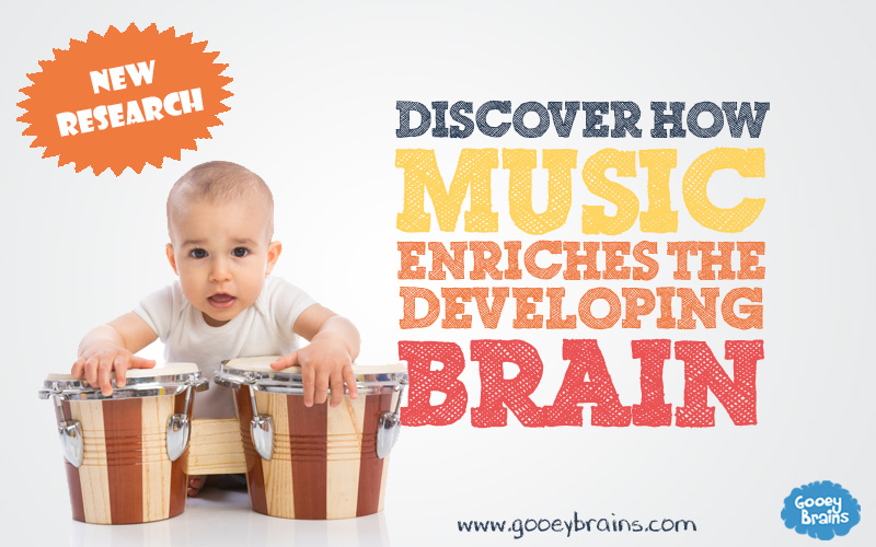 The benefits of music on the developing brain