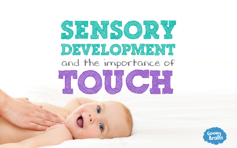 Sensory Development and the importance of Touch