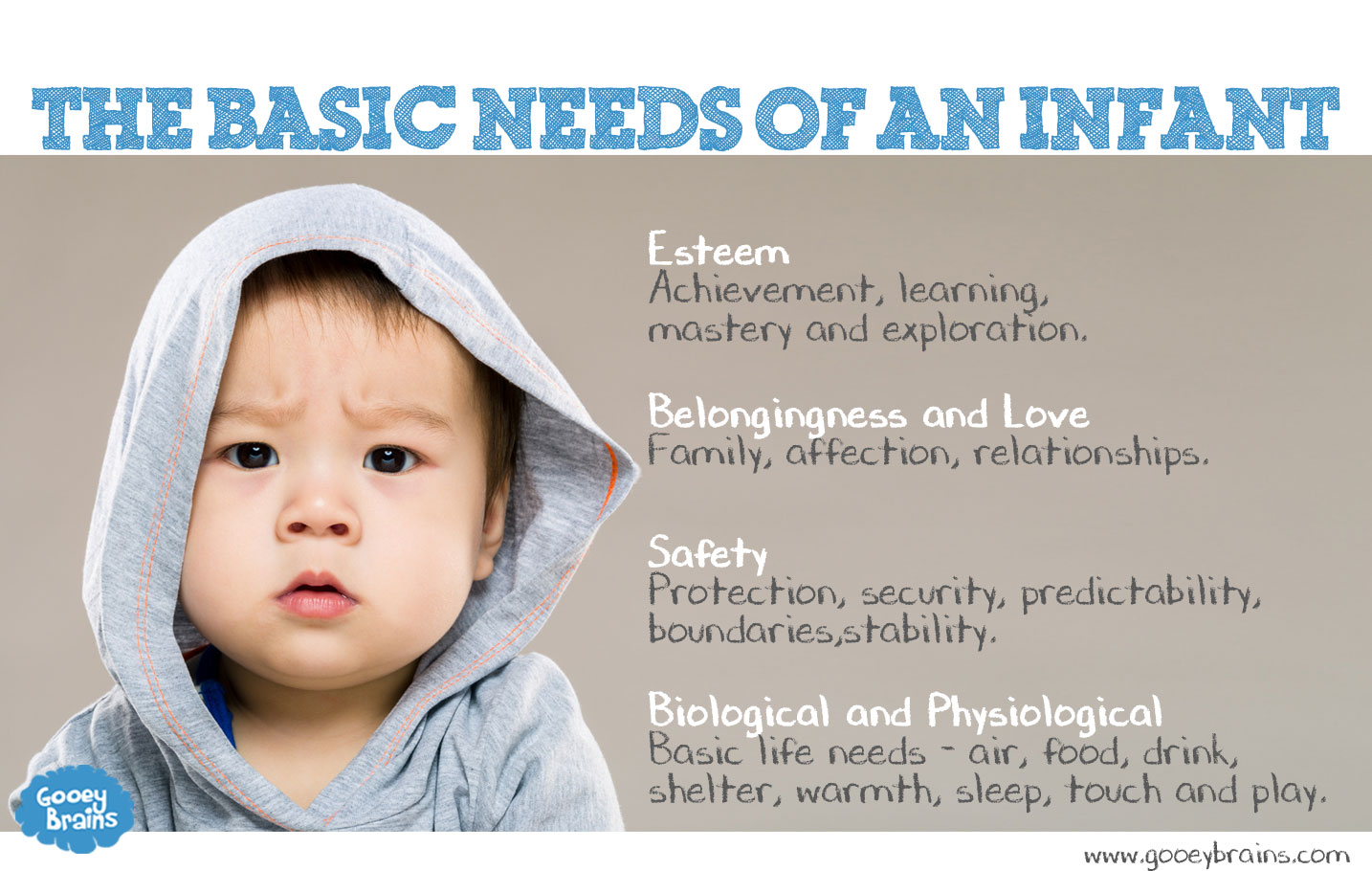 basic needs of an infant