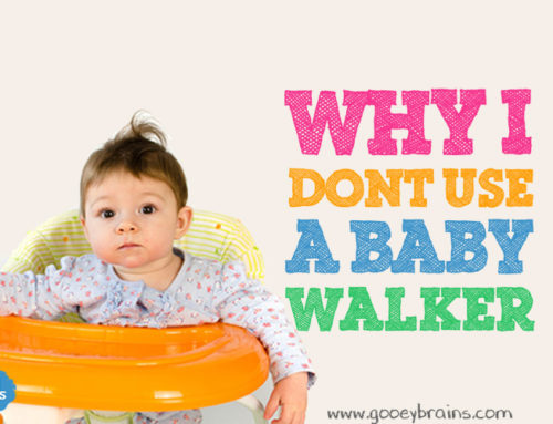 Why I don't use a baby walker