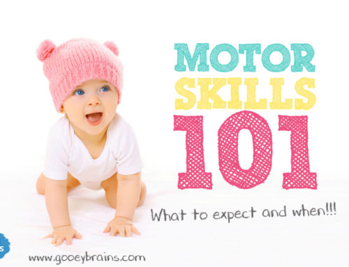 Motor Development 101 – What to expect and when!